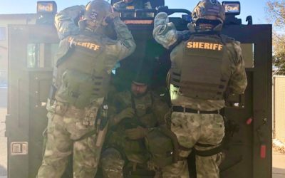 High Risk Warrant Search Nets Fire Arms and Drugs