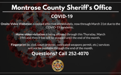 MCSO Services Affected by COVID-19