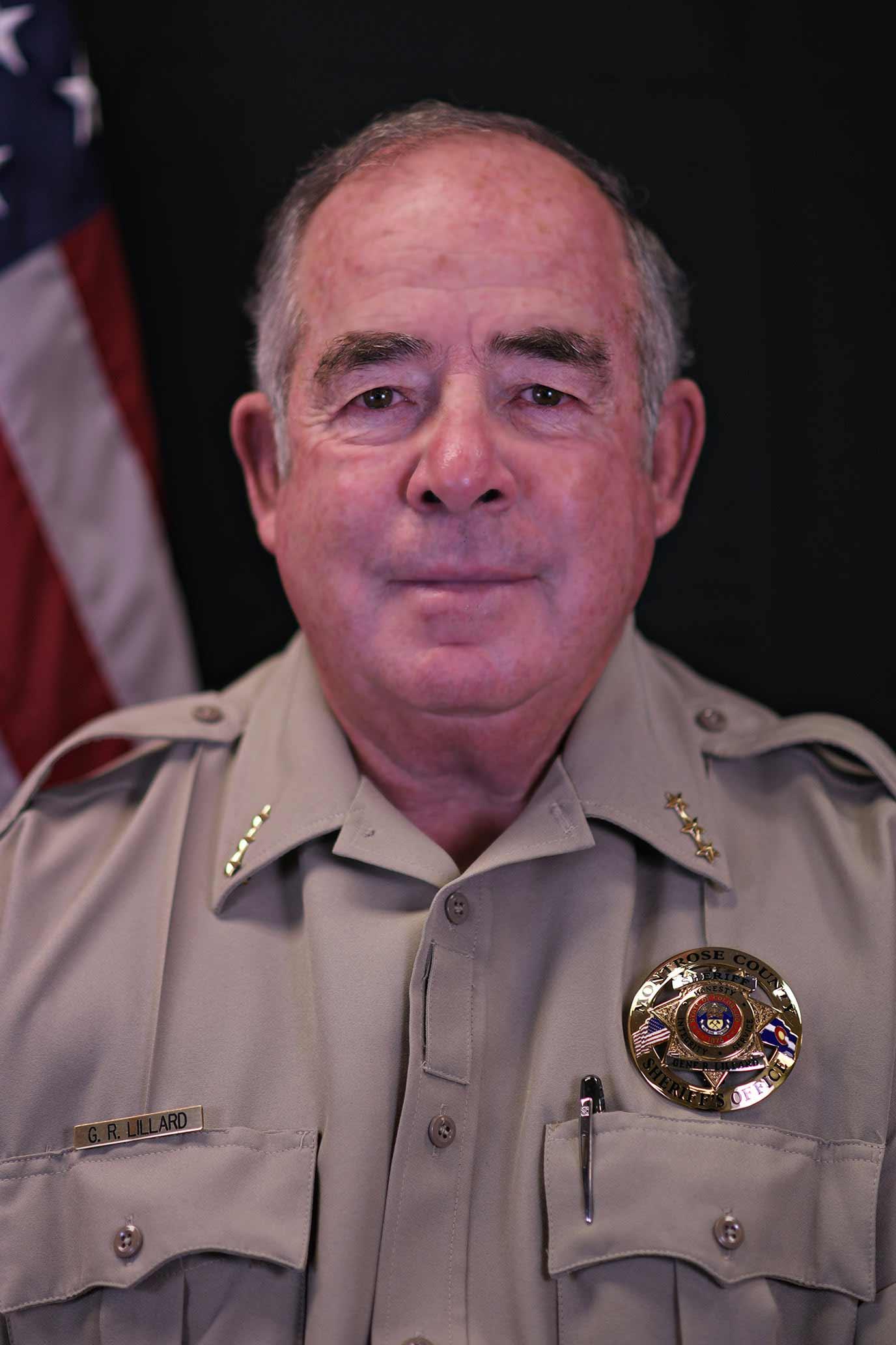 Sheriff Gene Lillard