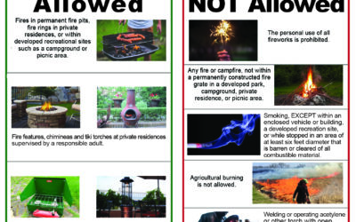 Stage 1 Fire Restrictions Beginning in Montrose County